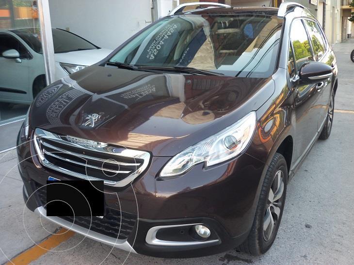Peugeot 2008 1.6 16v. Feline MT (115cv) usado (2017) color Bordo precio $1.590.000