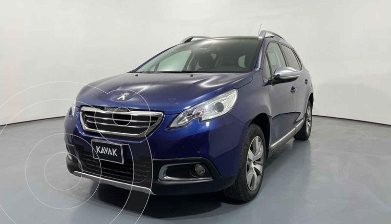Peugeot 2008 1.6L usado (2015) color Azul precio $182,999