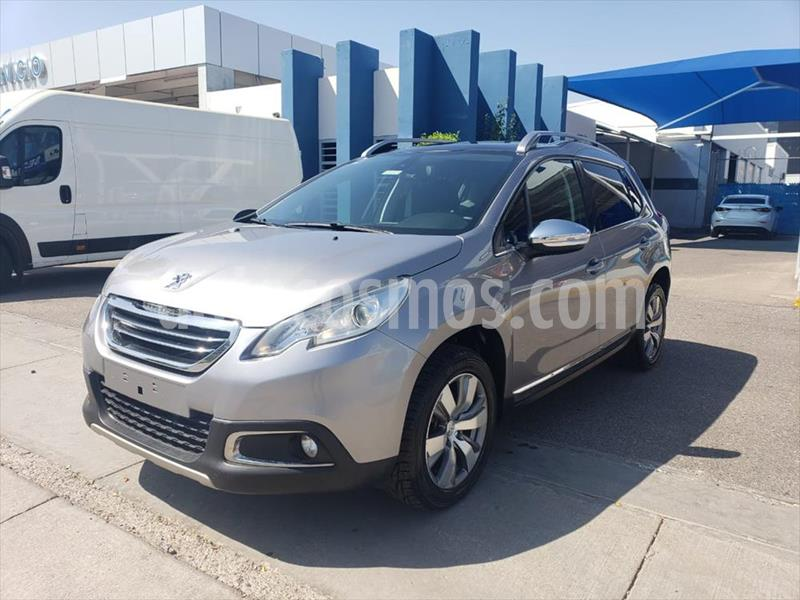 Peugeot 2008 1.6L usado (2015) color Gris precio $175,000