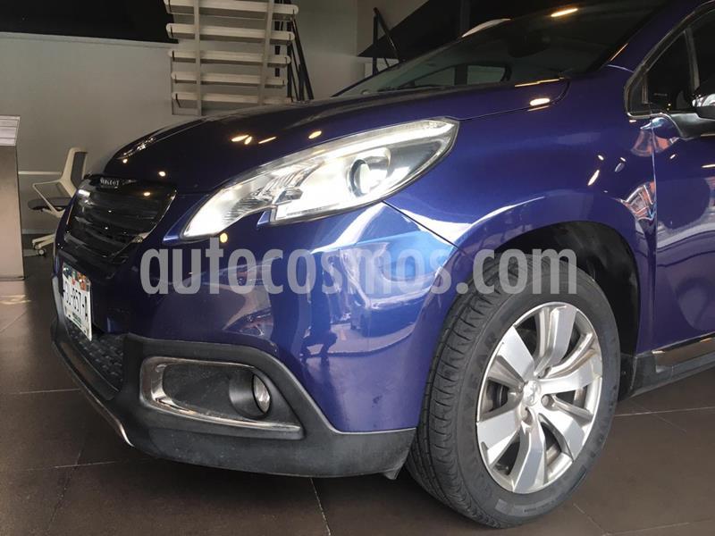 Peugeot 2008 1.6L usado (2015) color Azul precio $165,000