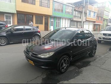 Foto venta Carro usado Peugeot 206 XRA Hatchback 1.400 C.C (2007) color Negro precio $14.500.000