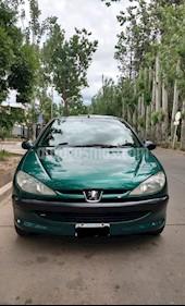 Foto venta Auto usado Peugeot 206 1.4 XN 3P (2001) color Verde precio $120.000