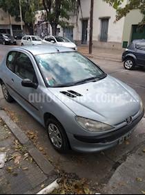 Foto venta Auto usado Peugeot 206 1.4 XR 3P (2004) color Celeste precio $120.000