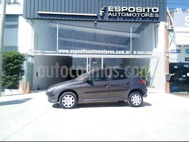 Foto venta Auto usado Peugeot 206 1.4 XR 5P (2011) color Gris Oscuro precio $165.000