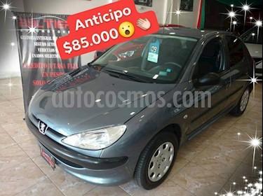 Foto venta Auto usado Peugeot 206 1.4 XR 5P (2009) color Gris Oscuro precio $85.000