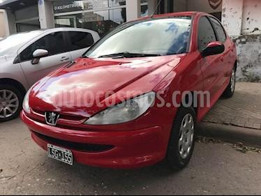 Peugeot 206 1.4 XR 5P usado (2012) color Rojo precio $238.000
