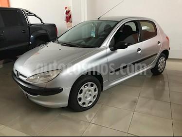 Foto venta Auto usado Peugeot 206 1.4 XR 5P (2011) color Gris Claro precio $160.000