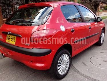 Peugeot 206+ 1.4L usado (2003) color Rojo precio $11.000.000