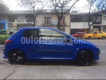 Foto venta Auto usado Peugeot 206 1.6 3P XS (2002) color Azul precio $128.000