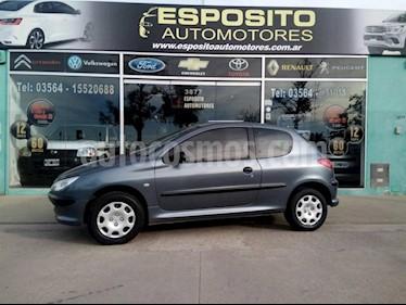 Foto venta Auto usado Peugeot 206 1.6 3P XS (2004) color Gris Oscuro precio $130.000