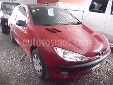 Peugeot 206 1.6 3P XS usado (2008) color Rojo precio $220.000
