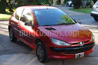 Foto venta Auto usado Peugeot 206 1.6 XR 5P (2001) color Rojo precio $70.000
