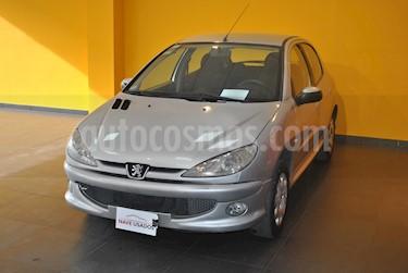 Foto venta Auto usado Peugeot 206 1.6 XR Premium 5P (2008) color Gris Plata  precio $198.000