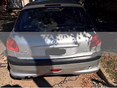 Peugeot 206 1.6 XR Premium 5P usado (2006) color Gris Plata  precio $170.000