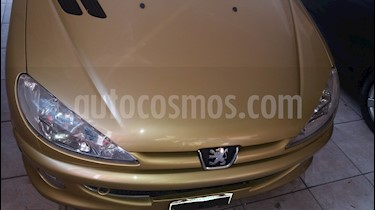 Foto venta Auto usado Peugeot 206 1.6 XR Premium 5P (2007) color Amarillo precio $170.000