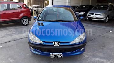 Foto venta Auto usado Peugeot 206 1.6 XR Premium 5P (2005) color Azul precio $139.900