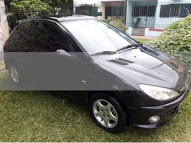 Foto venta Auto usado Peugeot 206 1.6 XS Premium 3P (2006) color Negro precio $135.000