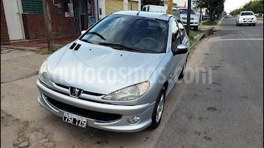 Foto venta Auto usado Peugeot 206 1.6 XT 5P (2008) color Gris Claro precio $165.000