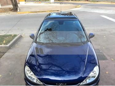 Foto venta Auto usado Peugeot 206 1.6 XT Premium 5P (2007) color Azul precio $185.000