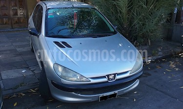 Foto venta Auto usado Peugeot 206 1.9 D Premium 5P (2006) color Celeste precio $139.000
