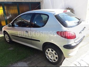 Foto venta Auto usado Peugeot 206 1.9 XRD 3P (2000) color Gris precio $136.900