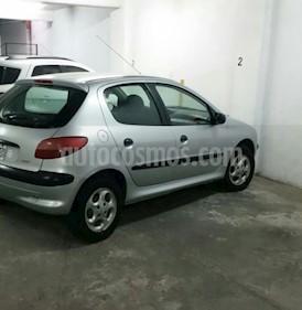 Foto venta Auto usado Peugeot 206 1.9 XRD 5P (2004) color Gris precio $130.000