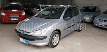 Foto venta Auto usado Peugeot 206 1.9 XRD 5P (2002) color Gris Claro precio $169.000