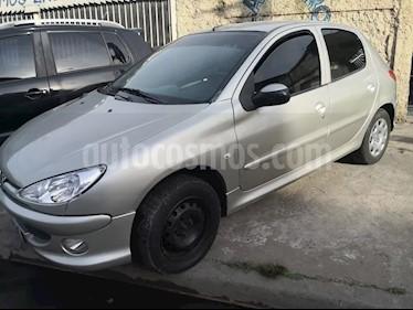 Foto Peugeot 206 1.9 XRD Premium 5P usado (2008) color Gris Plata  precio $155.000