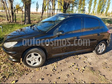 Foto venta Auto usado Peugeot 206 1.9 XRD Premium 5P (2006) color Negro precio $175.000