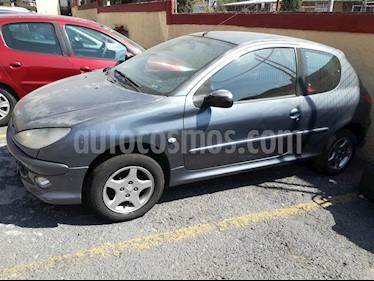 Foto venta Auto usado Peugeot 206 3P D-sign 1.4 (2008) color Gris precio $35,000