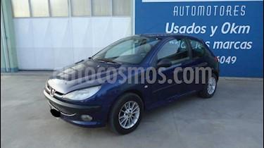 Foto venta Auto Usado Peugeot 206 3Ptas. 1.6 XR (2001) color Azul precio $125.000
