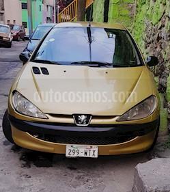 Foto venta Auto usado Peugeot 206 5P XR 1.4  (2006) color Amarillo precio $39,000