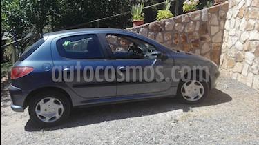 Peugeot 206 5P XR  usado (2009) color Azul Metalizado precio $3.200.000