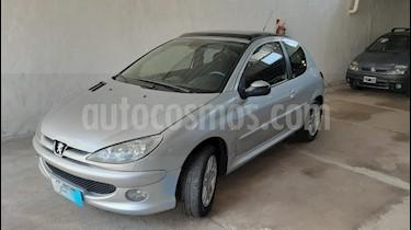 Peugeot 206 1.6 3P XS usado (2008) color Gris Claro precio $249.000