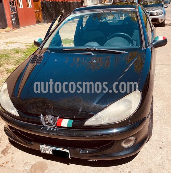 Peugeot 206 1.6 XS Premium 3P usado (2008) color Negro precio $400.000
