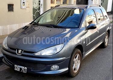 Peugeot 206 SW 1.6 XS Premium usado (2007) color Gris Fer precio $280.000