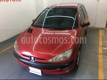 Peugeot 206 1.9 XRD Premium 5P usado (2005) color Rojo precio $198.000