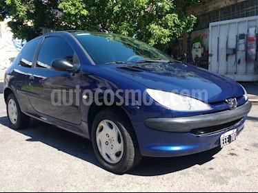 Peugeot 206 1.6 XR 3P usado (2003) color Azul precio $150.000