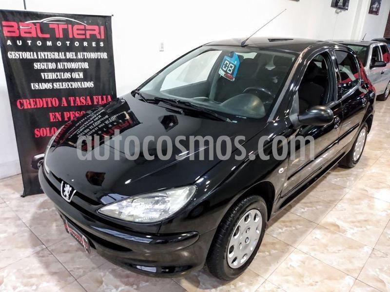 Peugeot 206 1.9 D X-Line 5P usado (2008) color Negro precio $369.000