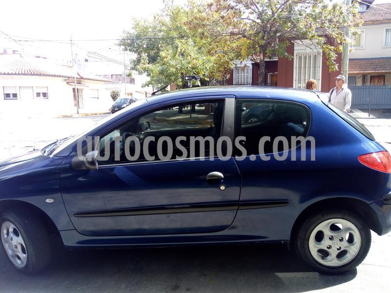 Peugeot 206 1.6 XR 3P usado (2000) color Azul precio $192.000