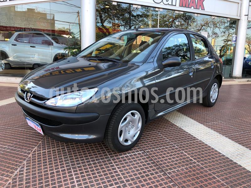 Peugeot 206 1.4 XR 5P usado (2011) color Gris precio $439.990