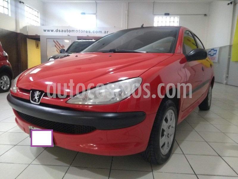 Peugeot 206 1.4 Generation 5P usado (2011) color Rojo precio $450.000
