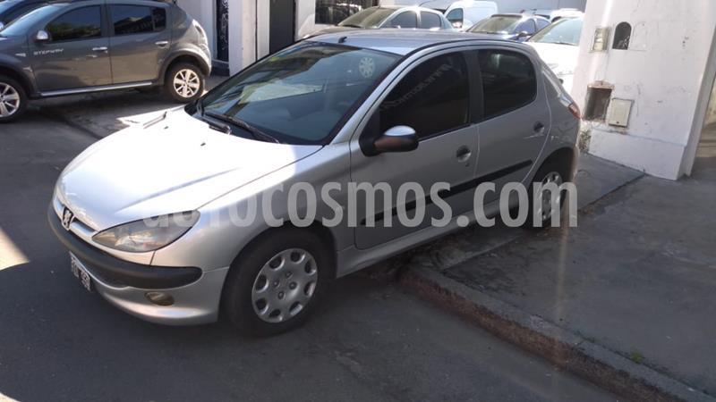 Peugeot 206 1.9 XRD Confort 5P usado (2006) color Gris Claro precio $445.000