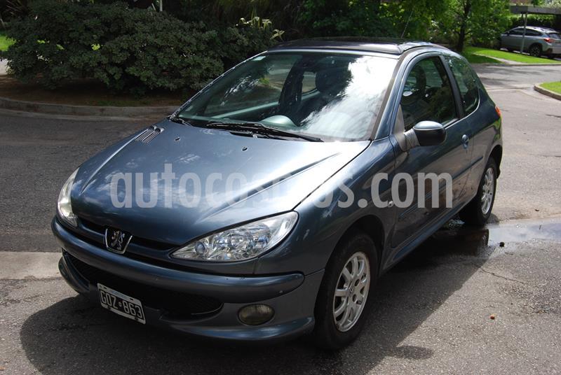 Peugeot 206 2.0 HDi XS Premium 5P NAV usado (2007) color Gris precio $460.000