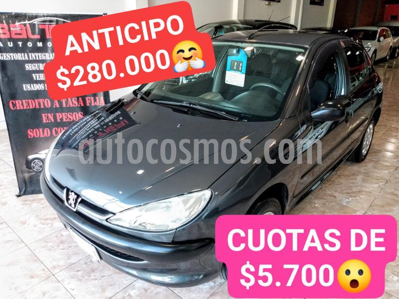Peugeot 206 1.4 Generation 5P usado (2011) color Gris Oscuro precio $470.000