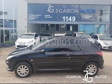 Peugeot 206 2.0 HDi XT 5P usado (2006) color Negro precio $245.000