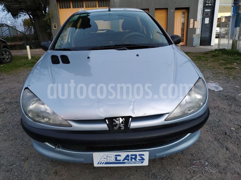 Peugeot 206 1.9 XRD 5P usado (2004) color Celeste precio $320.000