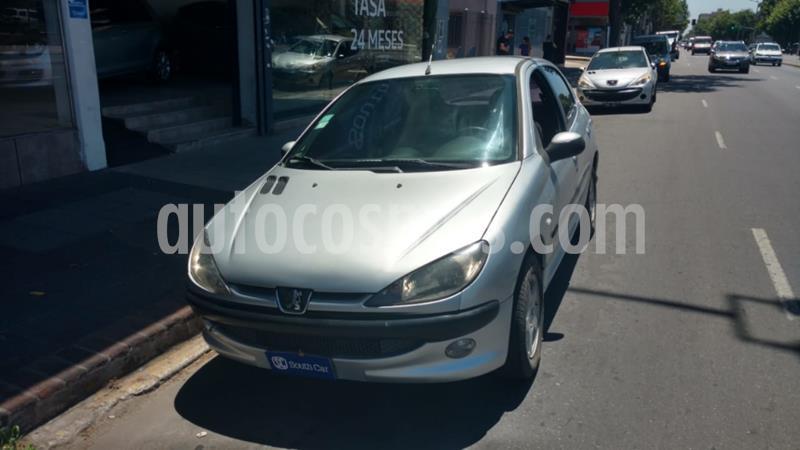 Peugeot 206 1.9 XRD 5P usado (2004) color Gris Claro precio $375.000