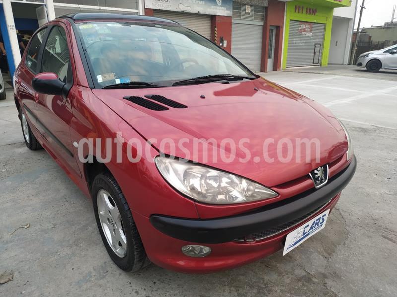 Peugeot 206 1.9 XRD Premium 5P usado (2006) color Rojo precio $322.000