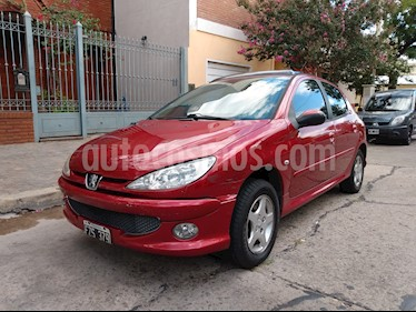 Peugeot 206 1.6 XT Premium 5P usado (2007) color Rojo precio $225.000